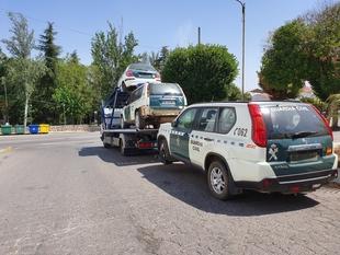 AUGC consigue que se retiren de los cuarteles de Fuente de Cantos, Monesterio y Segura de León vehículos que estaban de baja