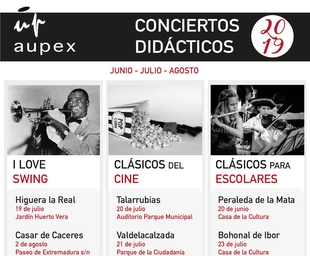 Higuera la Real acoge mañana uno de los conciertos didácticos de Aupex