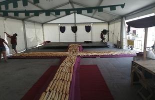 Las `II Viandas de Santiago´, de Calera de León, han sido un rotundo éxito