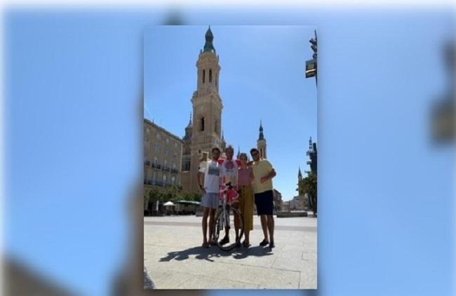El frexnense Antonio Magro ha recorrido en bicicleta santuarios y catedrales de ocho provincias españolas