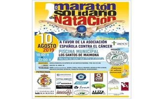 Vitaldent Zafra es uno de los patrocinadores del Maratón Solidario de Natación a beneficio de la AECC