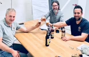 `Cerveza de Monesterio´, la primera cerveza para degustar con productos ibéricos, se presenta este jueves