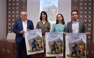 El espantajo de La Zaragutía Mora vuelve a recrearse en el Castillo de Alconchel