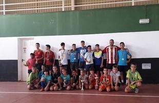 La deportividad y el compañerismo reinan en los Campeonatos de Fútbol Sala celebrados en Segura y Bodonal