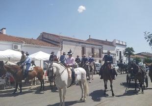 Bodonal de la Sierra acogió el `XXV Paseo de Caballos´