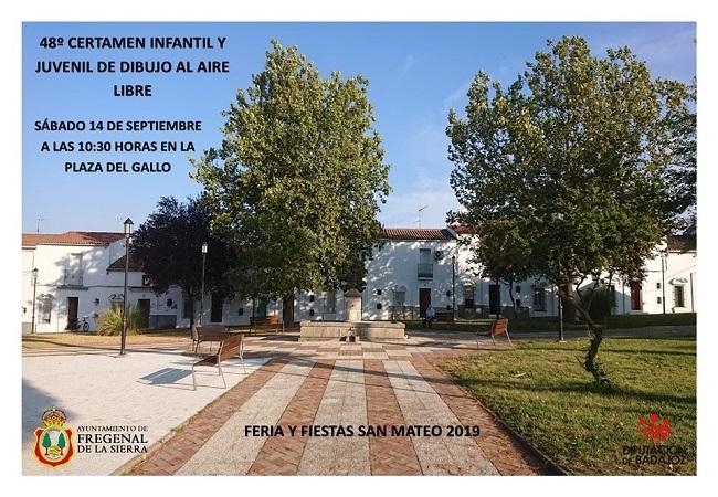 Los más pequeños de Fregenal de la Sierra se darán cita en el 48º Certamen de Pintura al Aire Libre