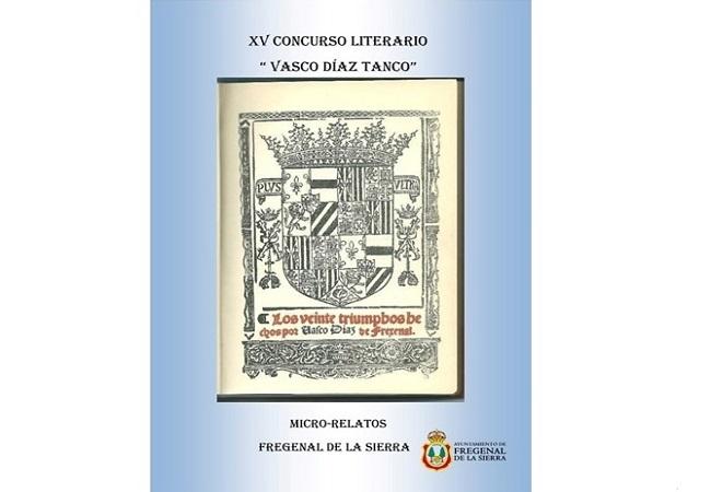 XV Concurso Literario `Vasco Díaz´ en Fregenal de la Sierra