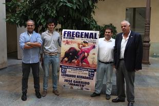 Leonardo Hernández, José Garrido y Juanito componen el cartel de la Fiesta de San Mateo de Fregenal de la Sierra