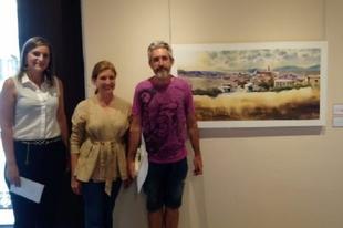 Celebrado el XXI concurso de pintura al aire libre Nicolás Megía en Fuente de Cantos
