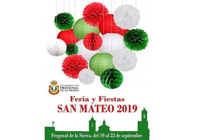 Programación de la Feria y Fiestas de San Mateo en Fregenal de la Sierra