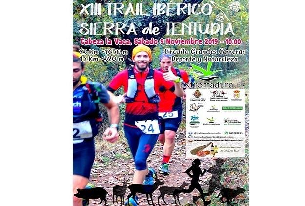 Disfruta corriendo en la naturaleza con el XII Trail Ibérico Sierra de Tentudía