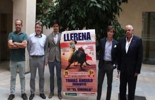 Tomás Angulo, Juanito el novillero Jesús Díez 'El Chorlo' componen el cartel de la Feria de San Miguel de Llerena