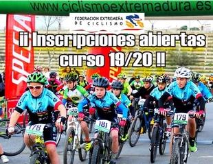 Inscripciones abiertas en la Escuela Ciclista Comarcal Puerto Lobo – Tentudía para la nueva temporada