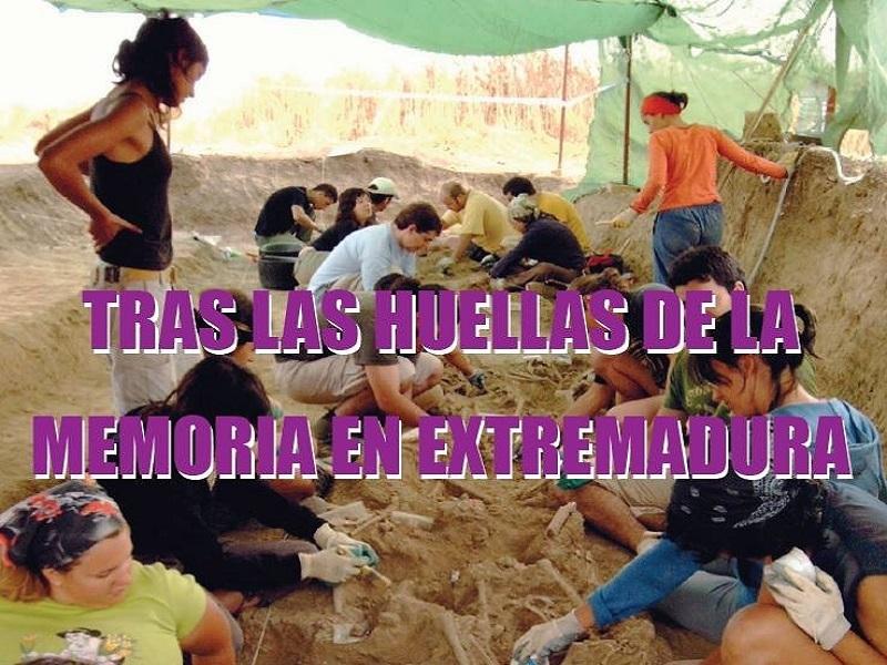 La ARMHEx lleva a Fuentes de León `Tras las huellas de la memoria en Extremadura´