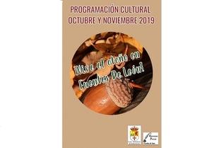Programación Cultural de octubre y noviembre en Fuentes de León