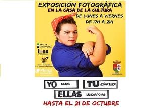 La Exposición `Yo mujer, Tú cómplice, Ellas luchadoras´ llega a Segura de León