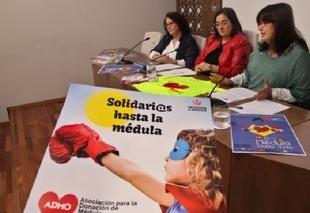 La Asociación para la Donación de Médula Ósea de Extremadura lleva a Llerena una campaña de sensibilización