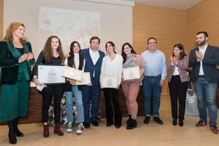 El IES Alba Plata de Fuente de Cantos recogía el premio Meninas 2019 en Cáceres