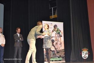 La fuentecanteña Paula Porras García, galardonada en los premios del Ciclismo de Extremadura