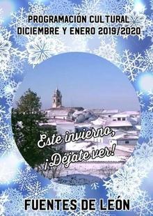 Este invierno déjate ver en Fuentes de León con las actividades que tendrán lugar durante diciembre y enero