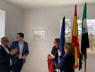 Inaugurada la Residencia del centro ocupacional de Fuente de Cantos