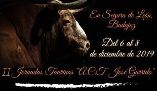 La ACT José Garrido de Segura de León celebra sus segundas jornadas taurinas este puente de diciembre