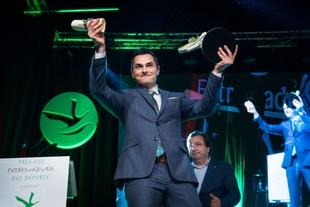 El higuereño Manuel Rasero recibe el Premio Extremadura del Deporte, máxima distinción  del Gobierno regional