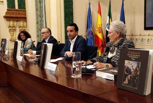 El MUBA presentó la publicación `Zurbarán en los archivos extremeños´ en el salón de plenos de la Diputación