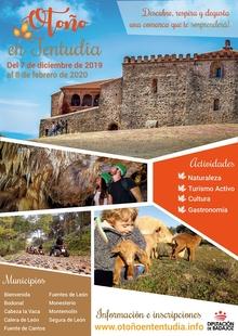 La Diputación organiza la III edición del Programa de Dinamización Turística `Otoño en Tentudía´