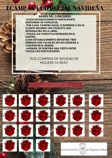 El Ayuntamiento de Higuera la Real realiza la I Campaña Comercial Navideña para fomentar el comercio local