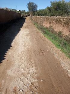 Importantes mejoras en los caminos de Higuera la Real con el Parque de Maquinaria de la Mancomunidad