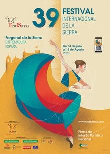 El cartel de Rosa Pilar Jiménez elegido para anunciar el XXXIX Festival Internacional de la Sierra