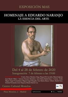 Homenaje al monesteriense Eduardo Naranjo en Madrid