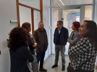 Visita al CID de Fregenal de la Sierra del diputado delegado de Concertación y Participación Territorial de la Diputación