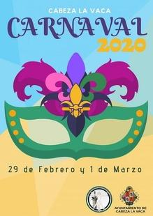 Cabeza la Vaca celebrará su Carnaval entre los días 28 de febrero y 1 de marzo
