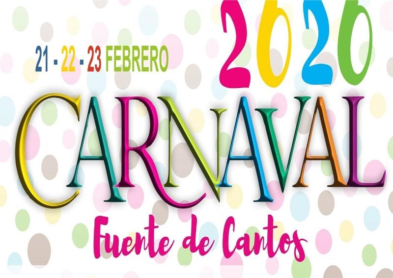 Todo preparado en Fuente de Cantos para disfrutar de su Carnaval 2020