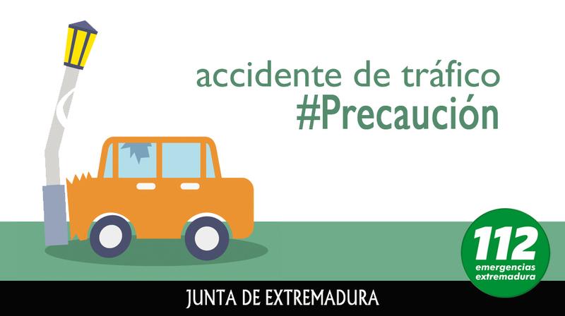 Fallece un varón de 42 años en un accidente de tráfico en la A-66 en Monesterio