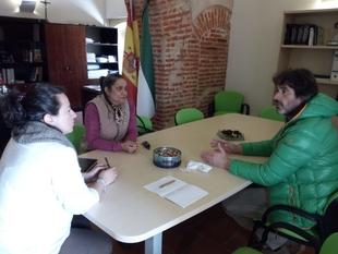 Tentudía acoge durante unos días a la coordinadora de la Mancomunidad Cordillerita de Paraguay