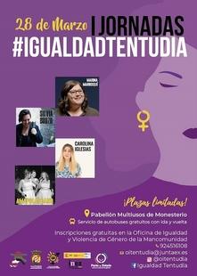 Mujeres de todos los municipios de la Mancomunidad podrán participar en las I Jornadas de #IgualdadTentudía