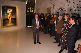 La exposición del monesteriense Eduardo Naranjo en el MUBA la más visitada en la historia de la institución