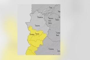 Se activa el aviso amarillo por lluvias en toda la Comarca a partir de mañana