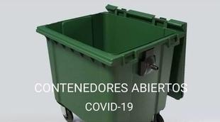 La Mancomunidad de Tentudia insta a dejar las tapas de los contenedores abiertas para prevenir contagios