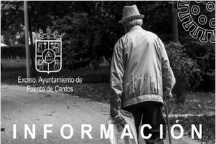 El Ayuntamiento de Fuente de Cantos publica un programa de ayuda a los mayores frente al Covid-19