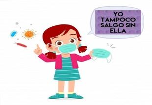 Fuentes de León garantizará los paseos de los más pequeños con el reparto de mascarillas adaptadas a su medida