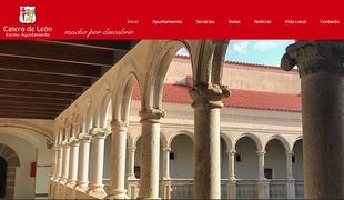 Calera de León pone en marcha, a partir de hoy, sus nuevos espacios en internet