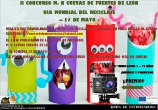II Concurso M. N. Cuevas de Fuentes de León por el Día Mundial del Reciclaje