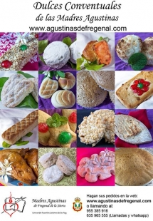 Lanzada una web para las Madres Agustinas de Fregenal para la venta de los Dulces Conventuales debido a la actual situación