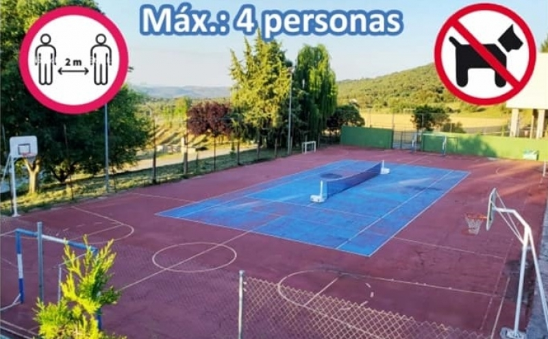 Las instalaciones deportivas municipales al aire libre en Cabeza la Vaca reabren hoy