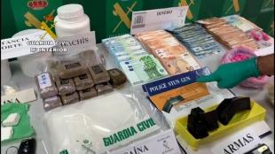 Detenidas por tráfico de drogas cinco personas en el marco de la operación Jukemo