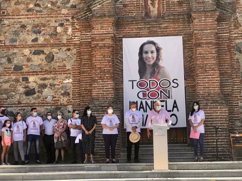 Monesterio recuerda a su vecina Manuela Chavero en el cuarto aniversario de su desaparición